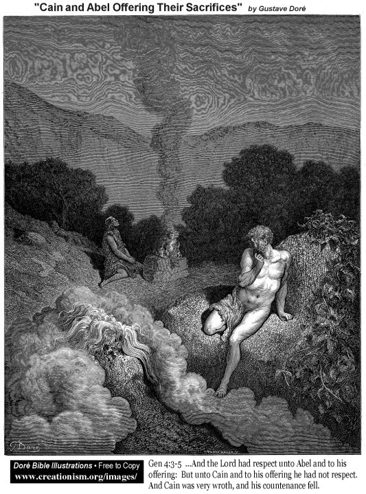http://www.creationism.org/images/DoreBibleIllus/aGen0403Dore_CainAndAbelOfferingTheirSacrifices.jpg