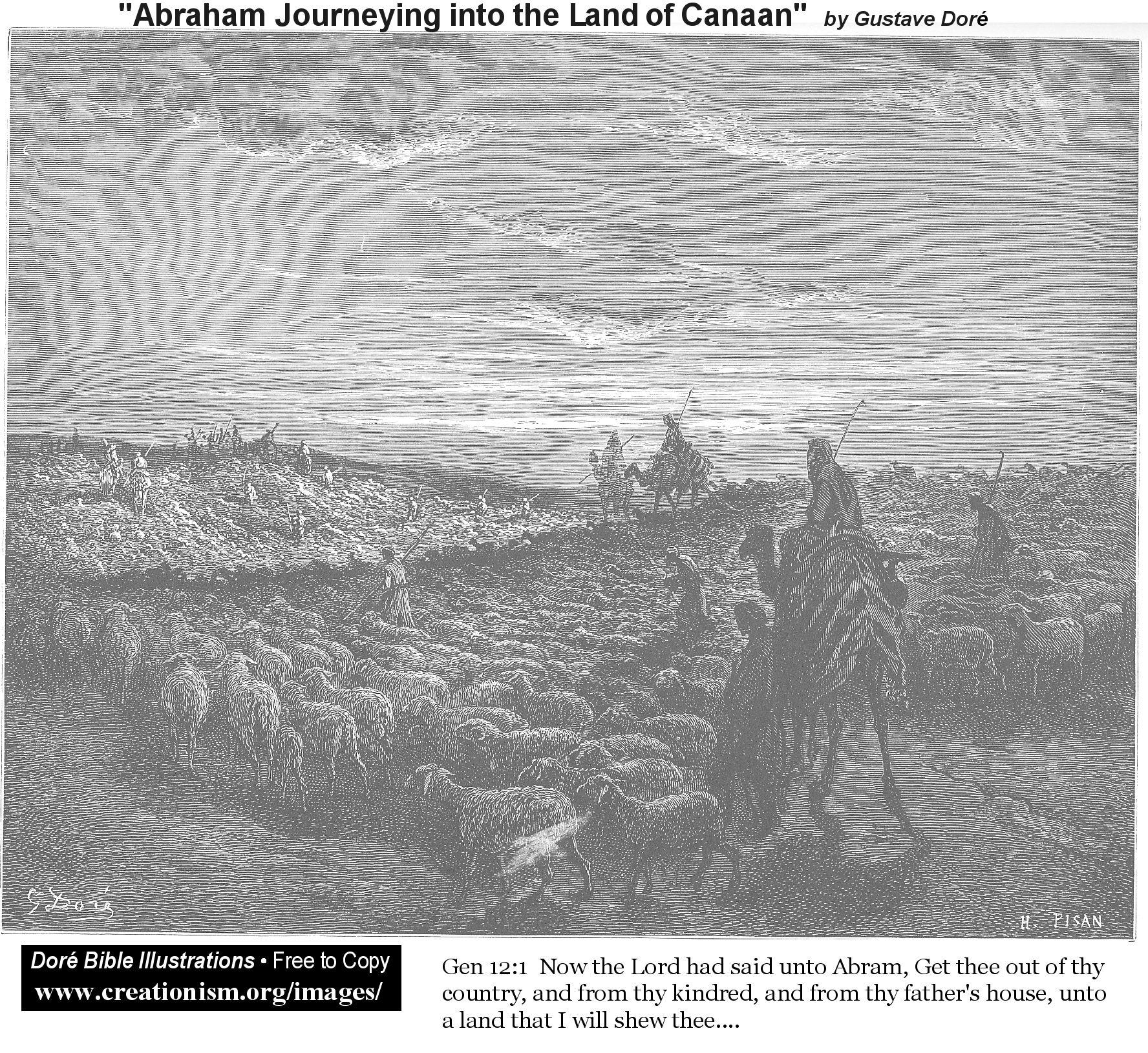 Ilustraciones Biblicas Por Gustave Doré parte 1
