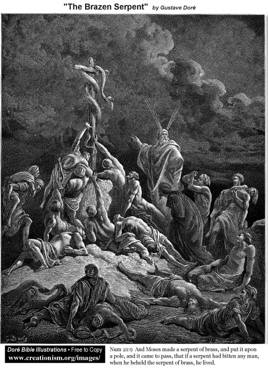 Bible Illustrations, by G  Dore - Main Page