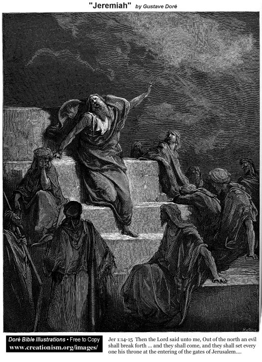 Jeremiah (Jeremiah 1:14-15)