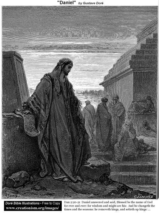 Daniel (Daniel 2:20-21)